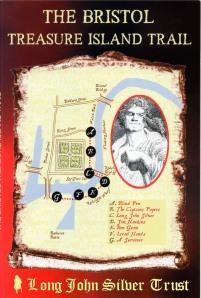 The Bristol Treasure Island Trail by the Long John Silver Trust - bookjacket